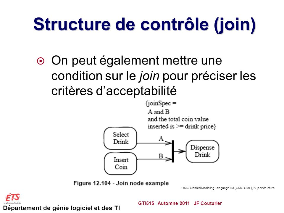 Structure de contrôle (join)