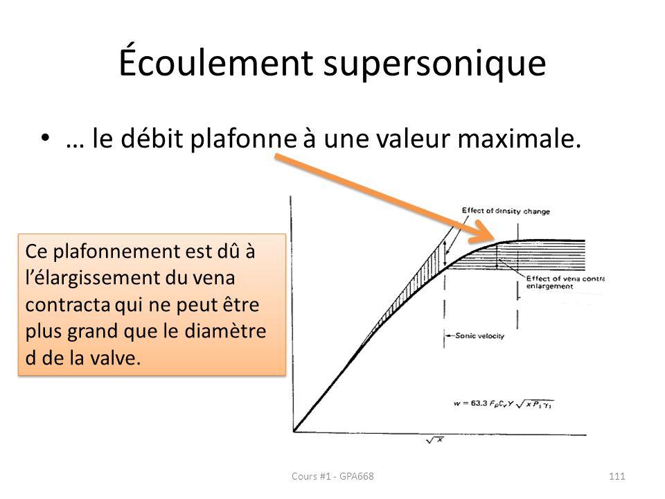 Écoulement supersonique