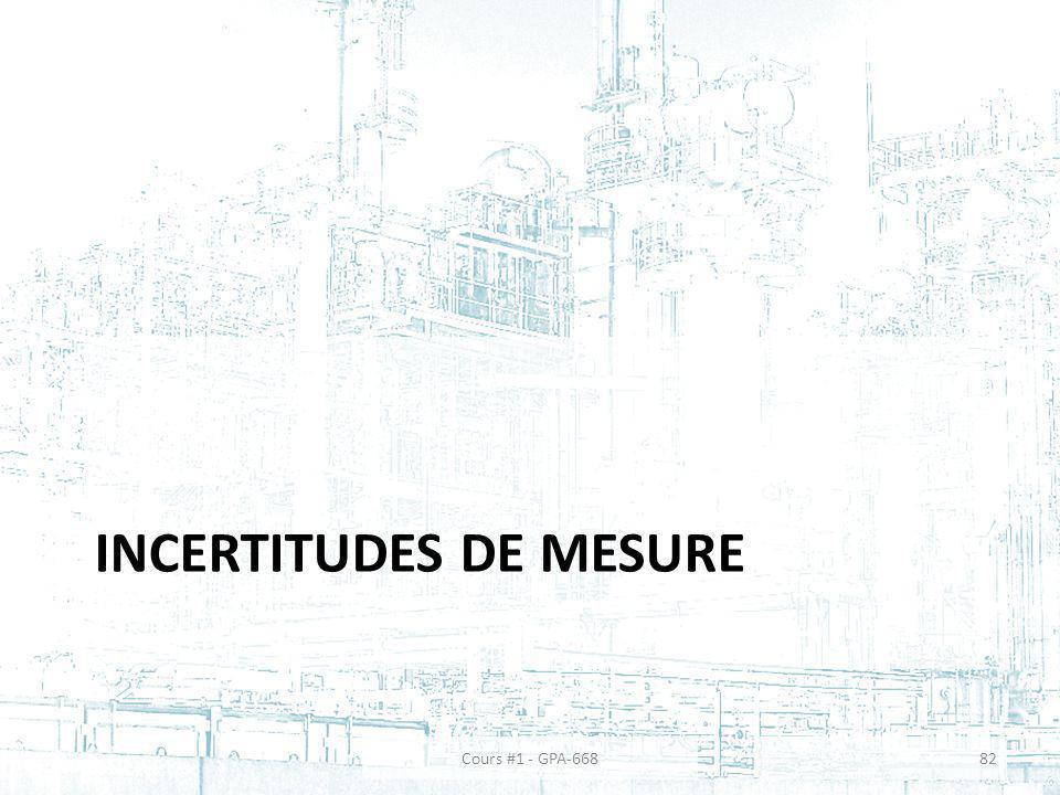 Incertitudes de mesure