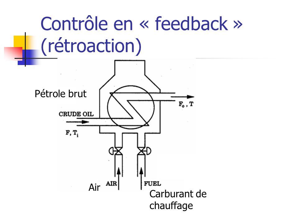Contrôle en « feedback » (rétroaction)