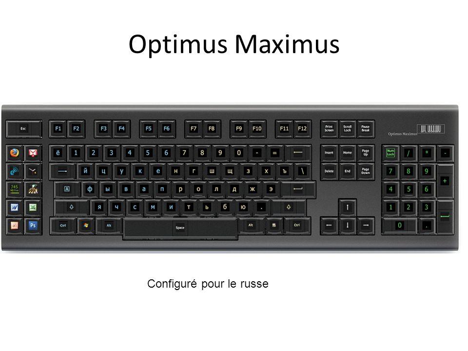 Optimus Maximus Configuré pour le russe