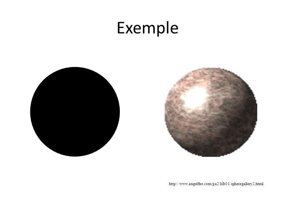Exemple http://www.angelfire.com/pa2/klb01/spheregallery2.html
