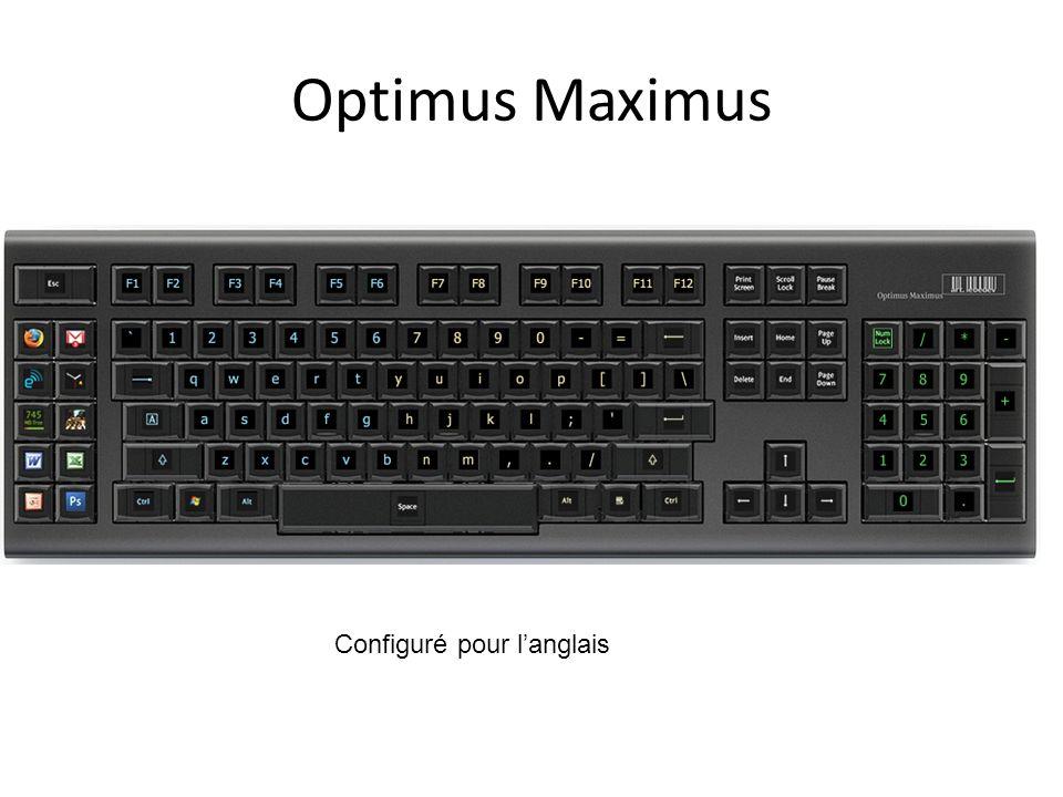 Optimus Maximus Configuré pour l'anglais