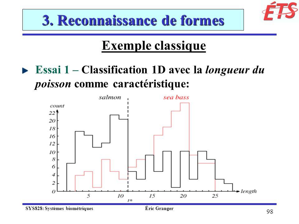 3. Reconnaissance de formes