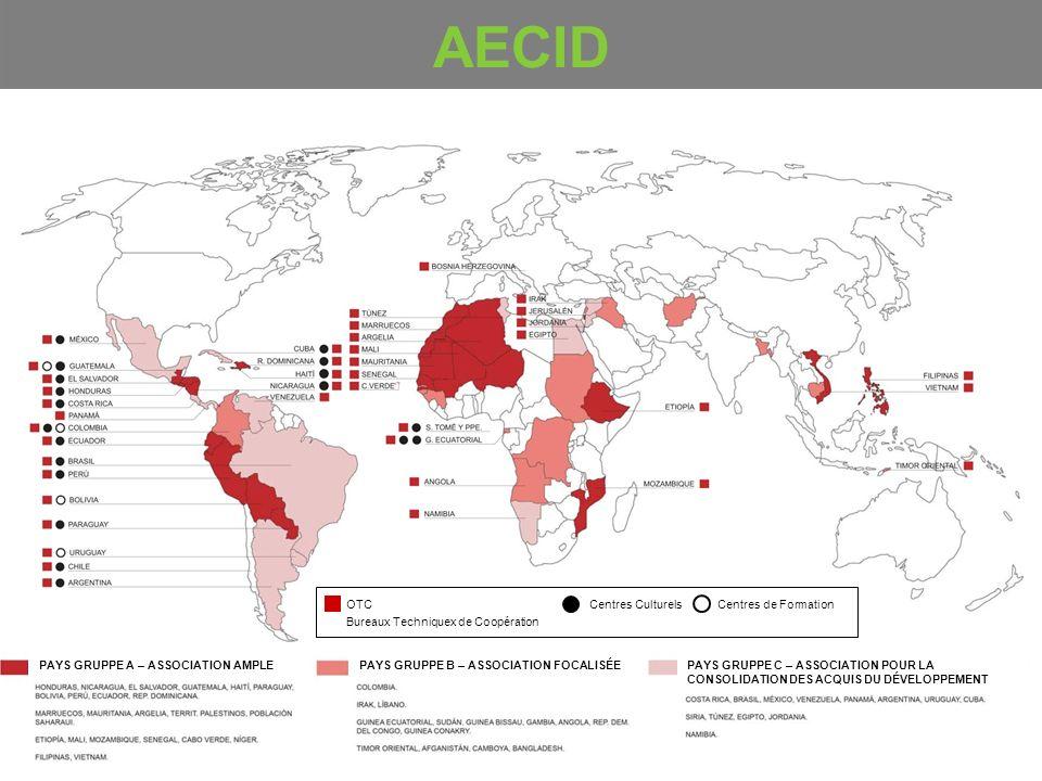 AECID OTC Bureaux Techniquex de Coopération Centres Culturels