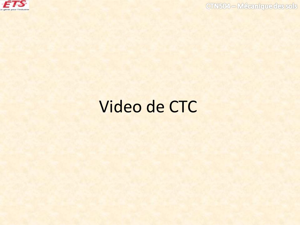 Video de CTC