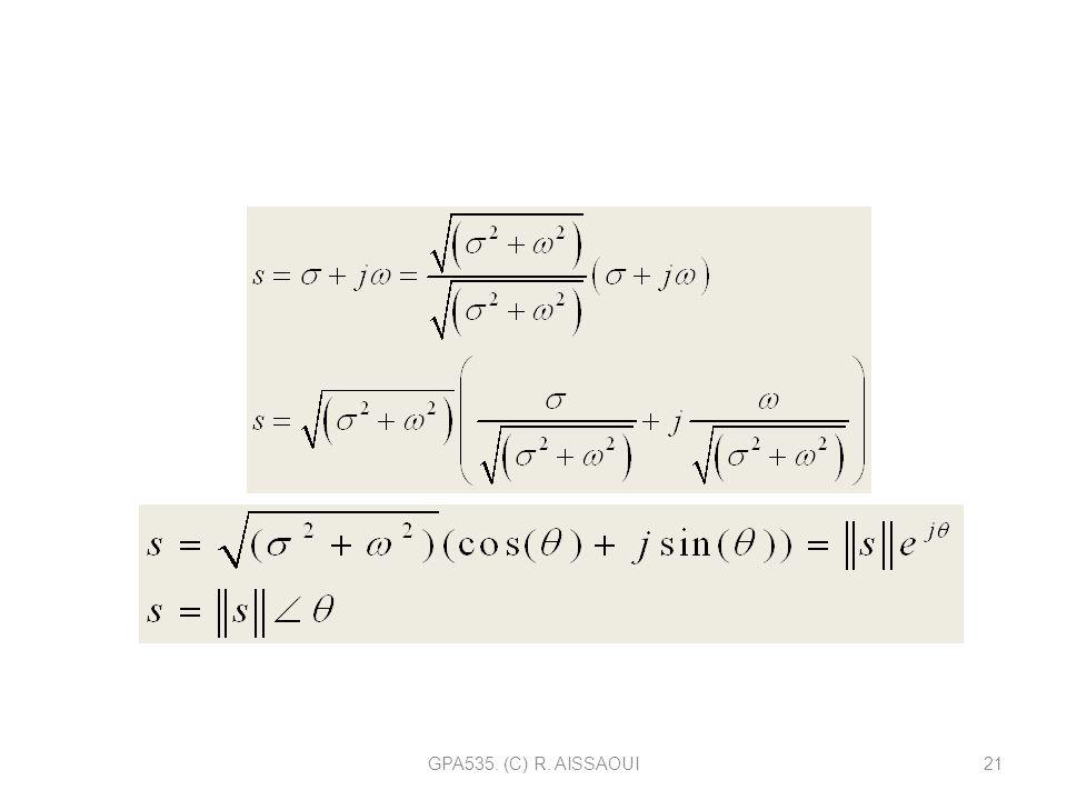 Tout nombre complexe peut s'écrire sous une forme exponentielle