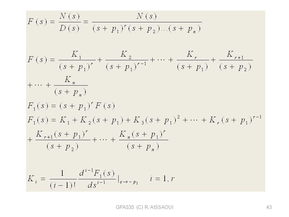 GPA535. (C) R. AISSAOUI