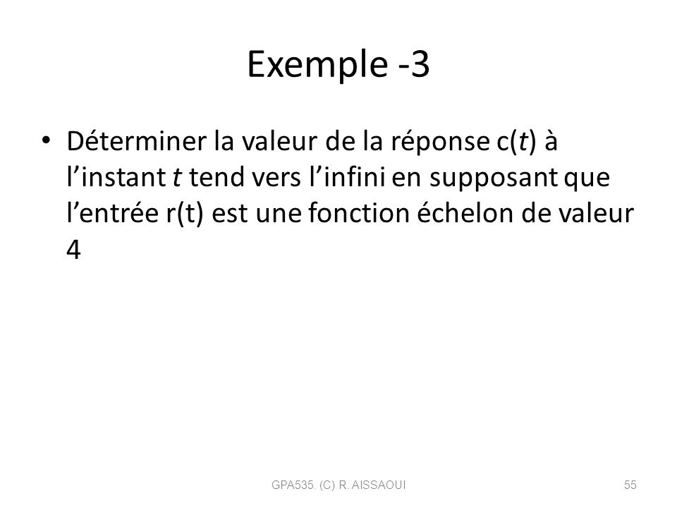 Exemple -3
