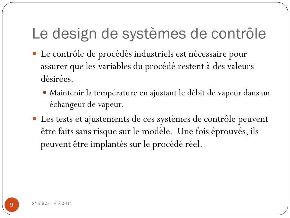 Le design de systèmes de contrôle