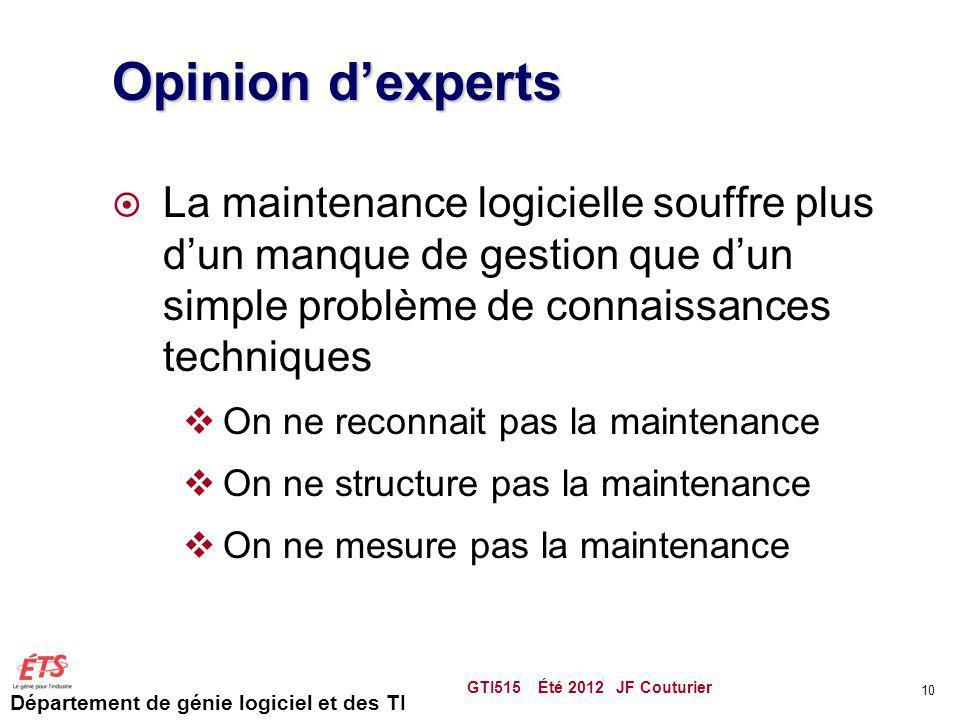 Opinion d'experts La maintenance logicielle souffre plus d'un manque de gestion que d'un simple problème de connaissances techniques.