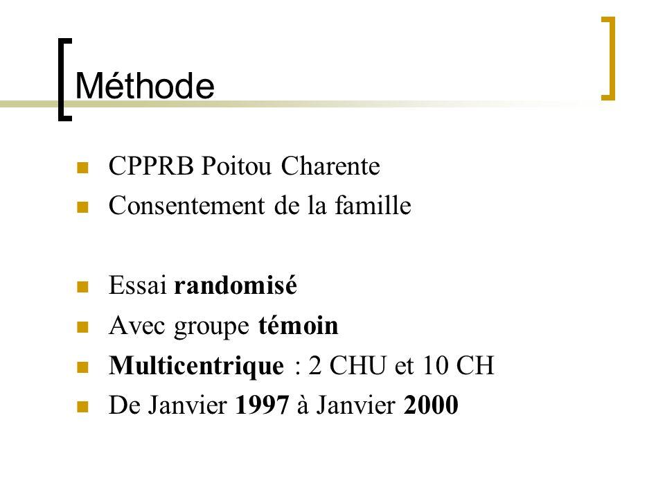Méthode CPPRB Poitou Charente Consentement de la famille