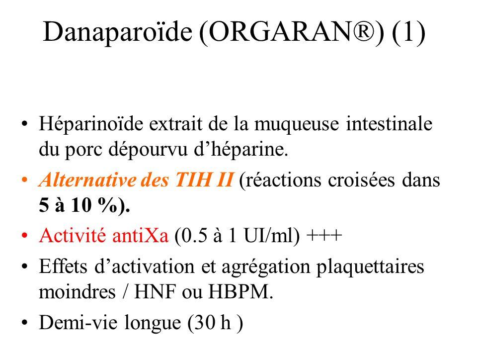 Danaparoïde (ORGARAN®) (1)