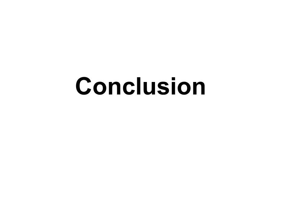 Conclusion Pour conclure, il ne faut pas nier qu'il est probable que