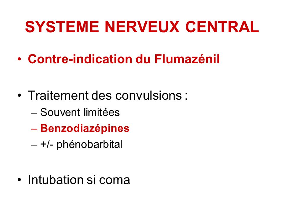 SYSTEME NERVEUX CENTRAL