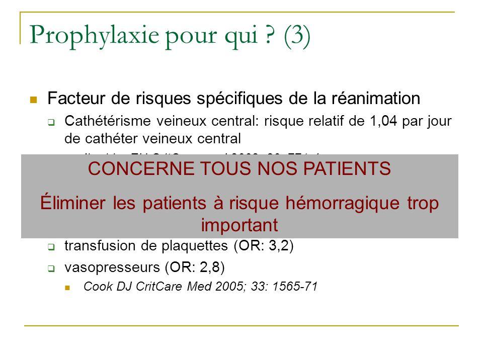 Prophylaxie pour qui (3)