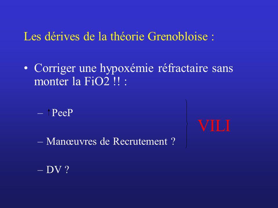Les dérives de la théorie Grenobloise :