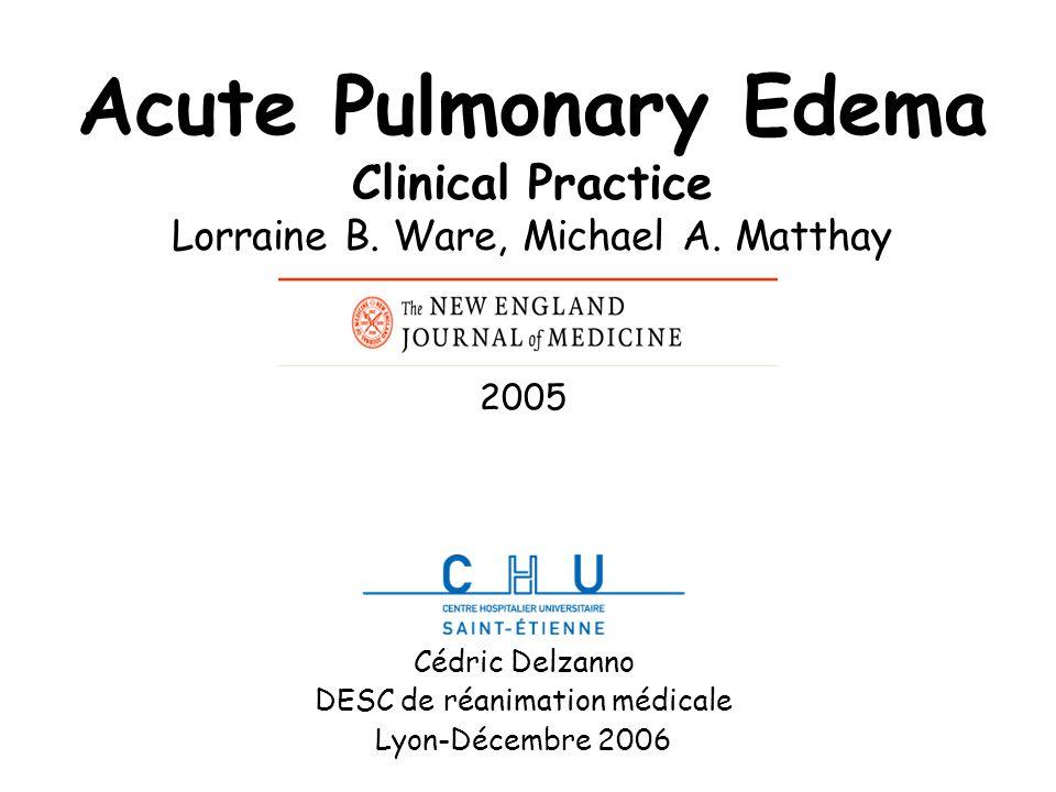 Cédric Delzanno DESC de réanimation médicale Lyon-Décembre 2006