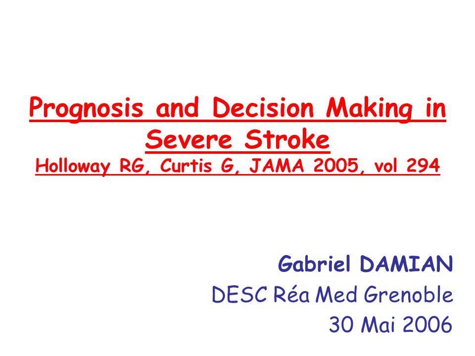 Gabriel DAMIAN DESC Réa Med Grenoble 30 Mai 2006