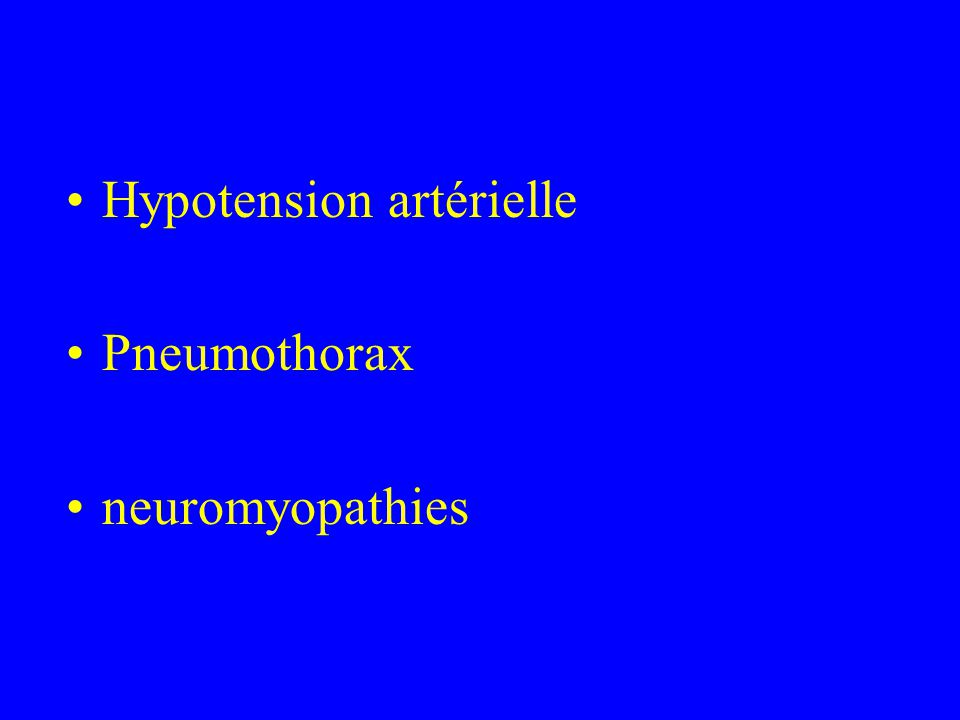 Hypotension artérielle
