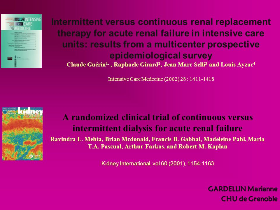 Kidney International, vol 60 (2001), 1154-1163