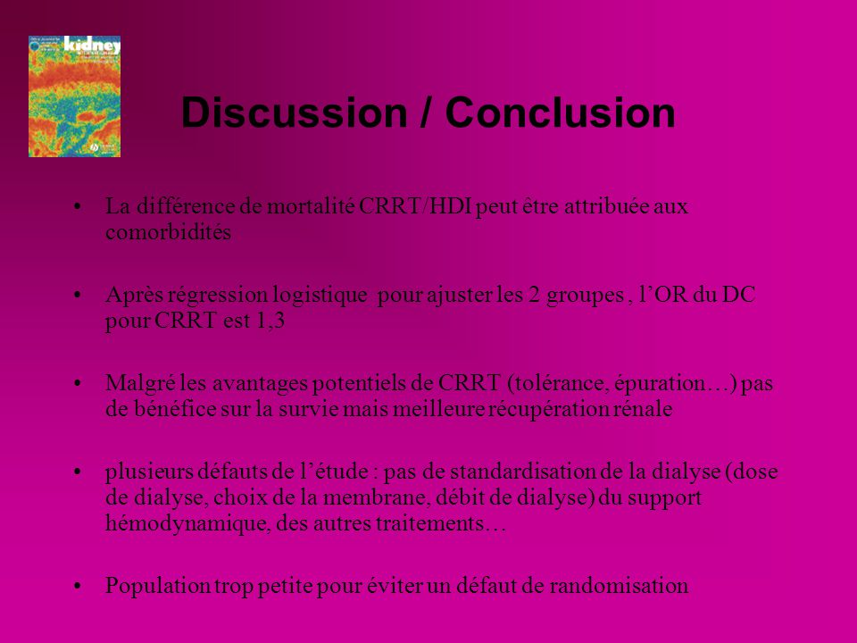 Discussion / Conclusion