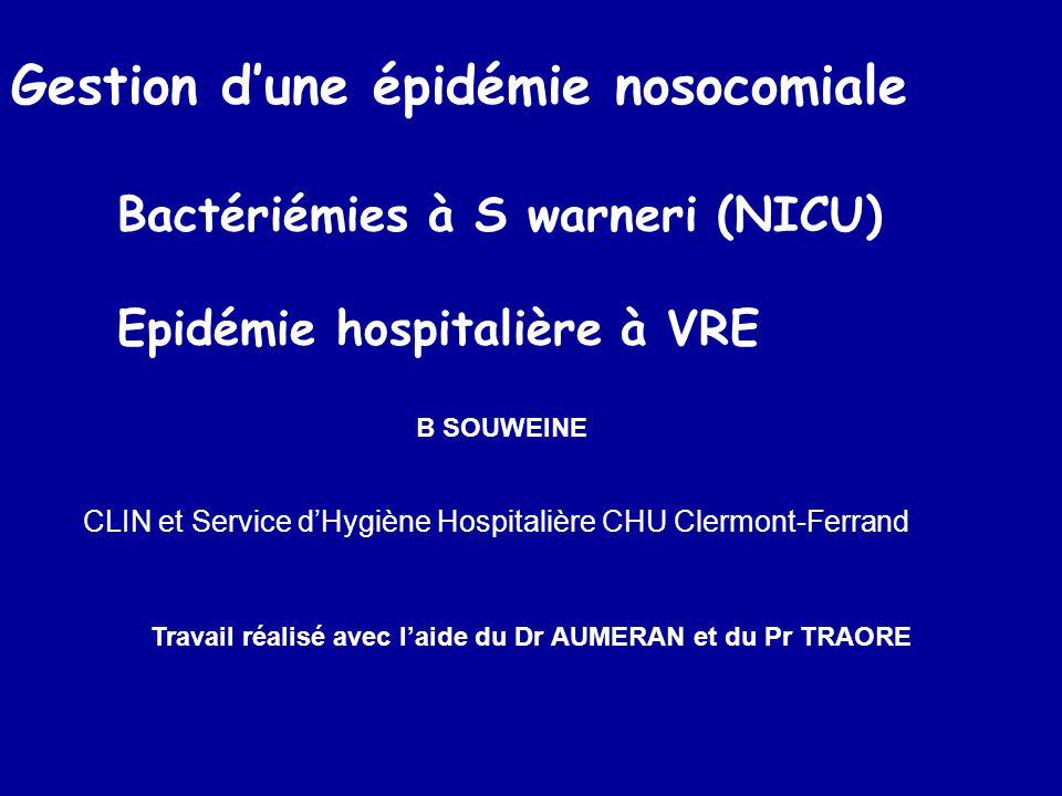 CLIN et Service d'Hygiène Hospitalière CHU Clermont-Ferrand