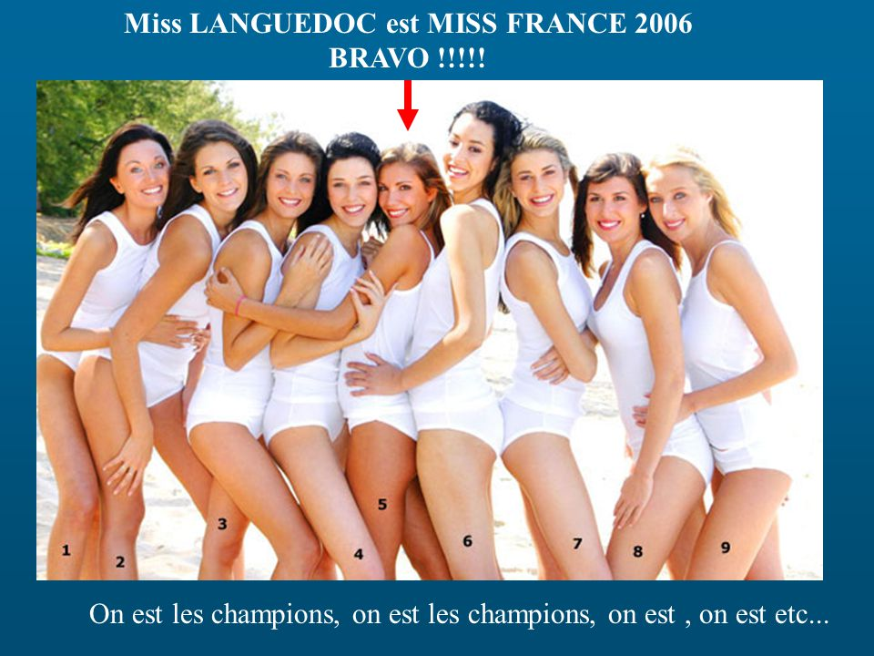 Miss LANGUEDOC est MISS FRANCE 2006 BRAVO !!!!!