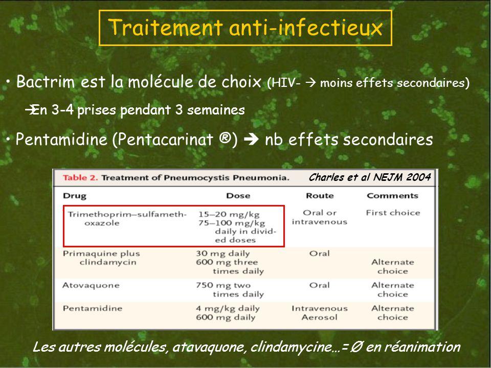 Traitement anti-infectieux