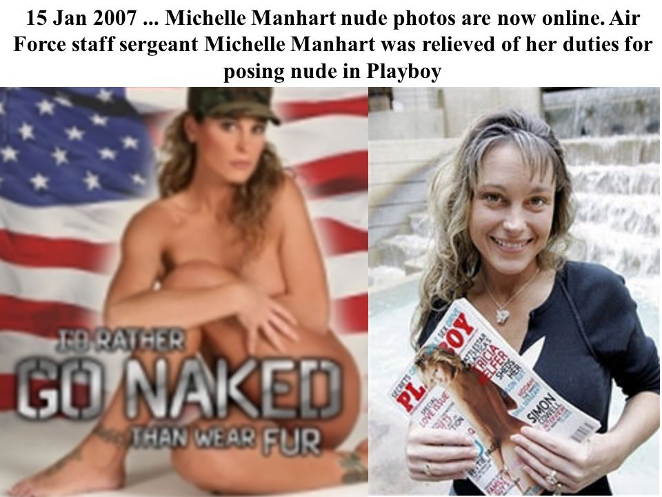 15 Jan 2007. Michelle Manhart nude photos are now online