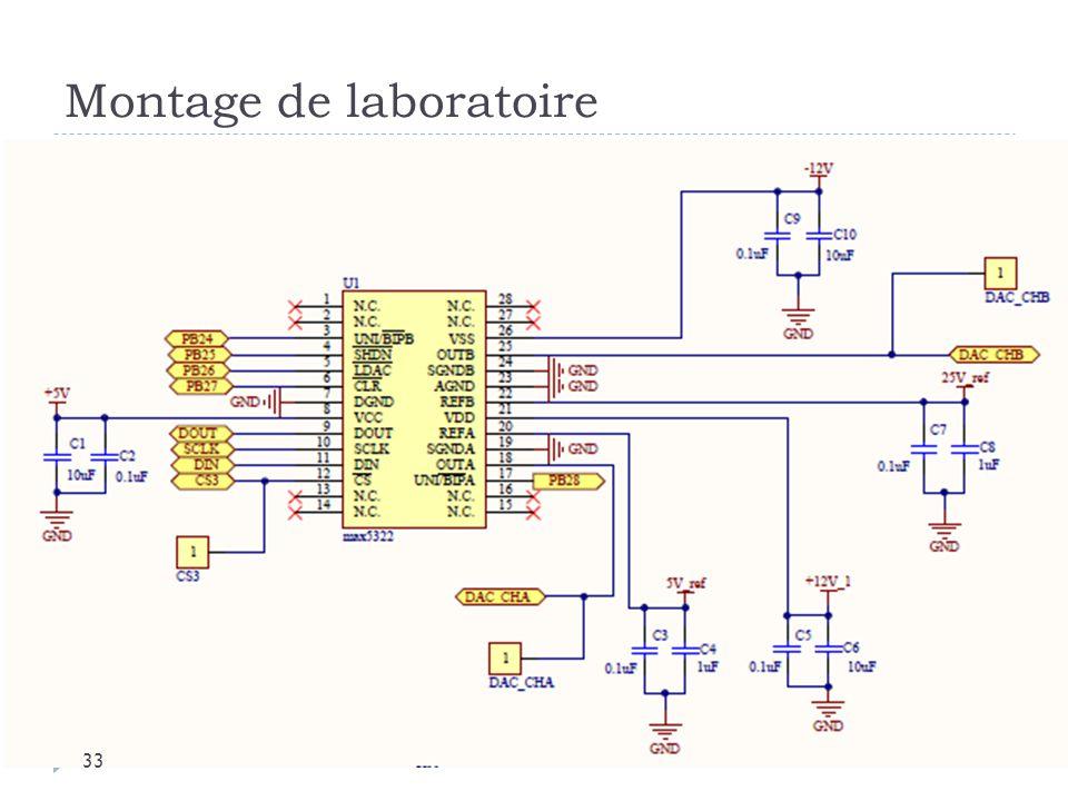 Montage de laboratoire