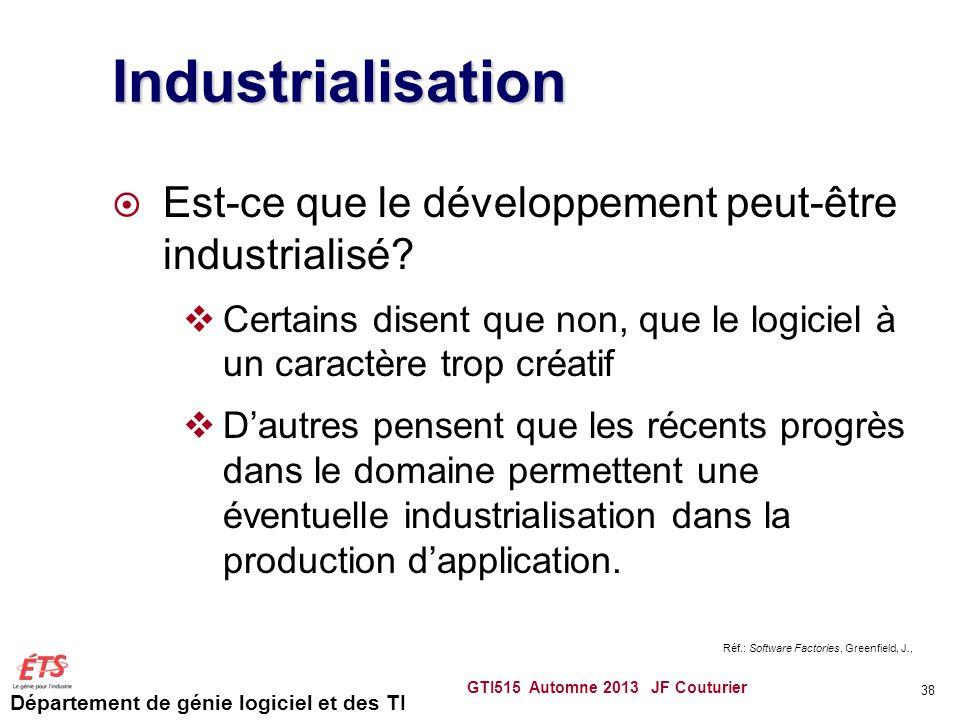Industrialisation Est-ce que le développement peut-être industrialisé