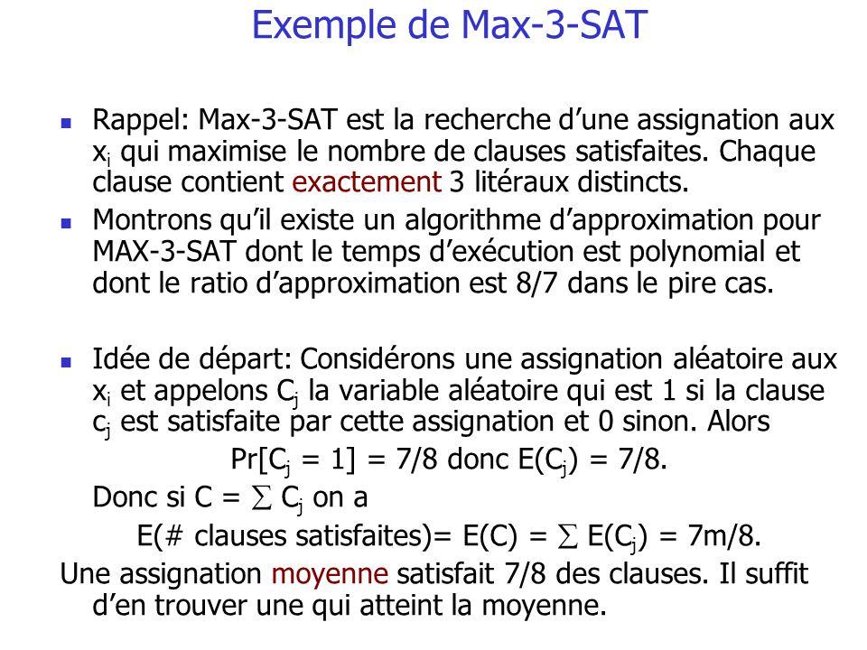 Exemple de Max-3-SAT