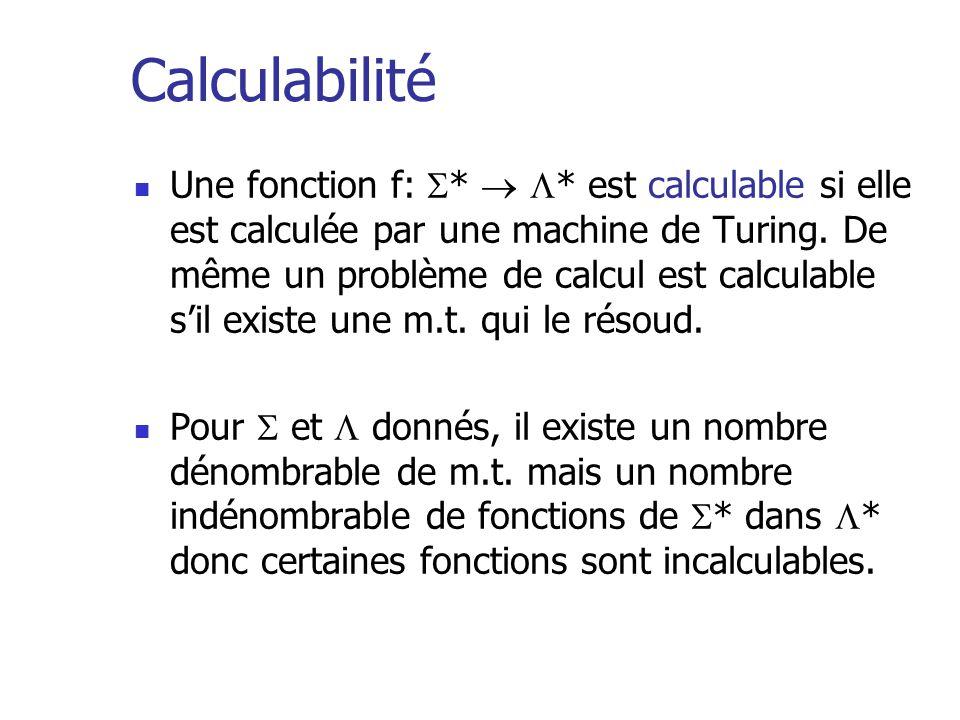 Calculabilité
