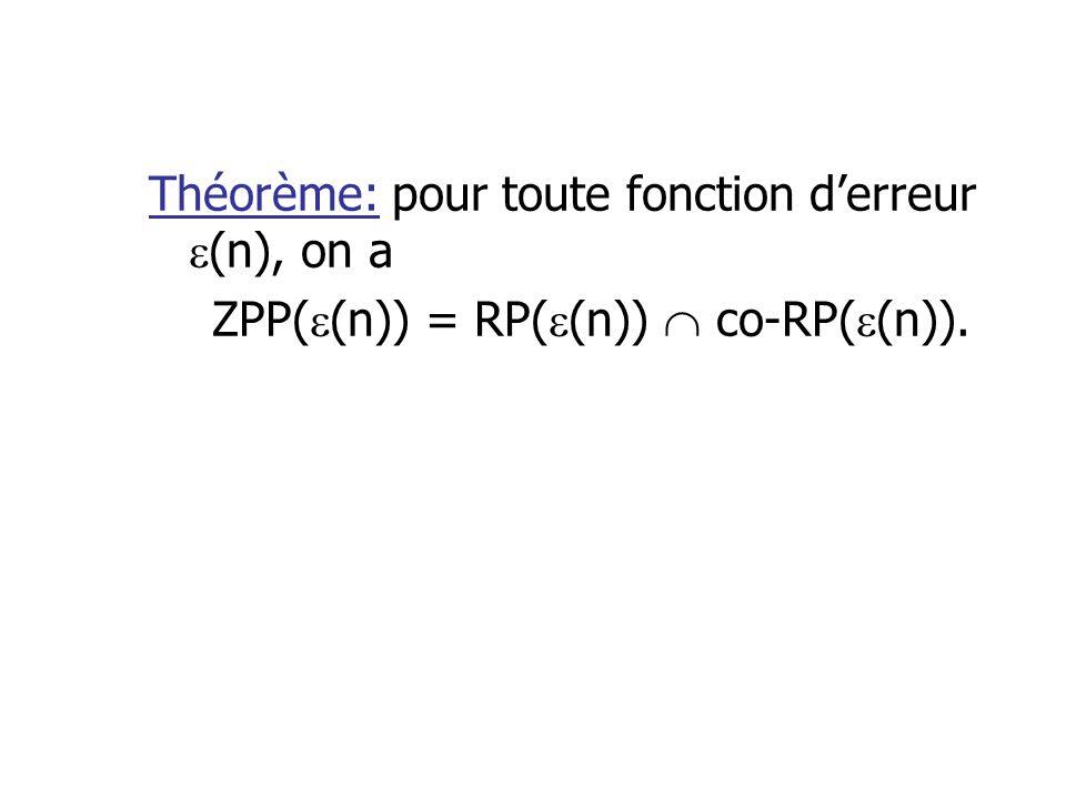 ZPP((n)) = RP((n))  co-RP((n)).