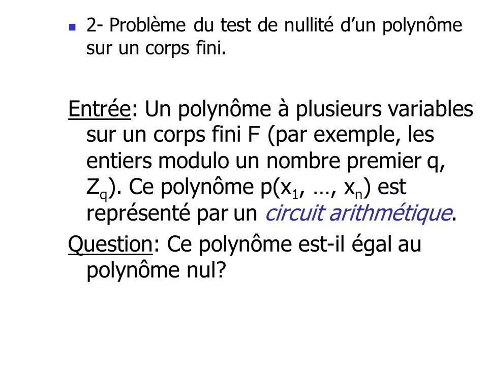 Question: Ce polynôme est-il égal au polynôme nul