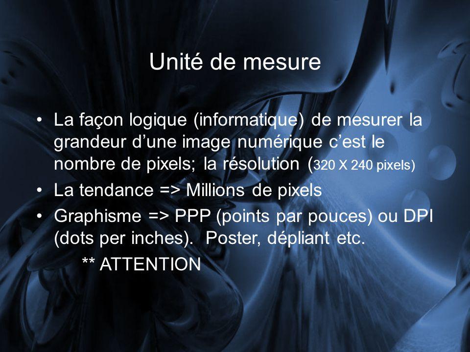 Unité de mesure