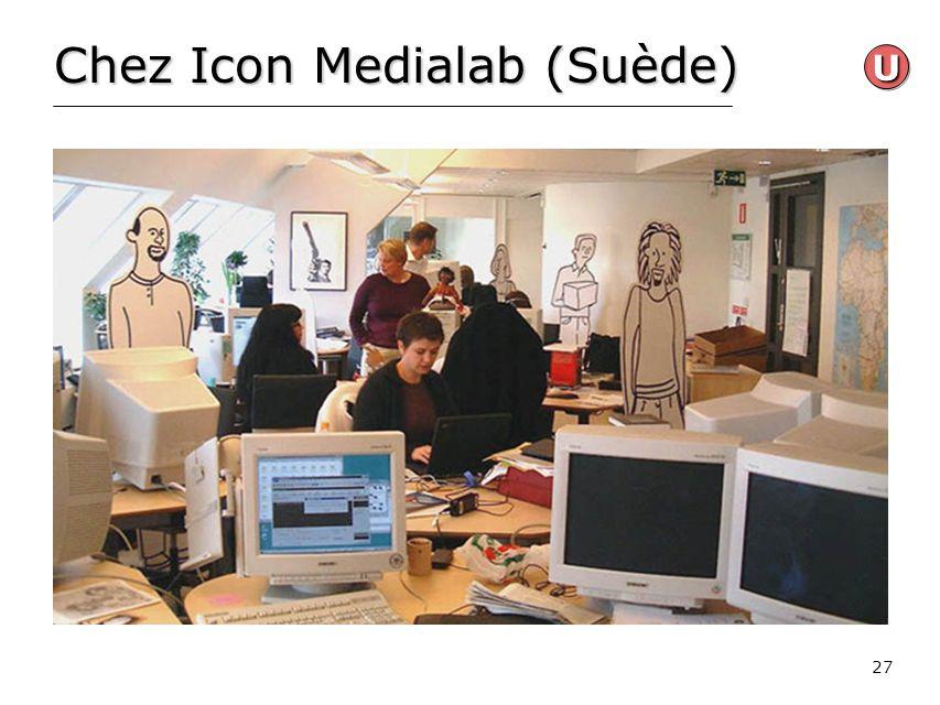 Chez Icon Medialab (Suède)