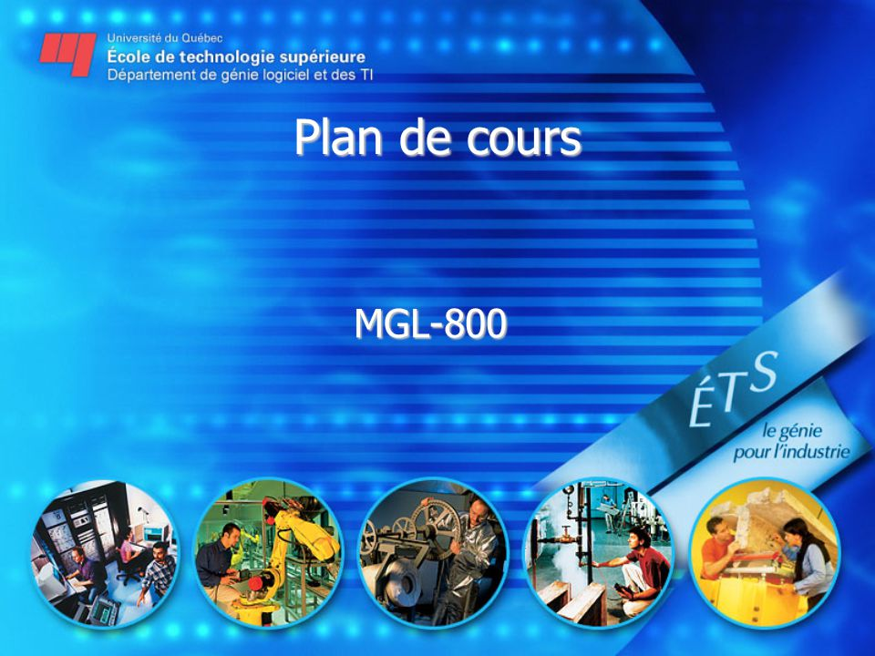 Plan de cours MGL-800