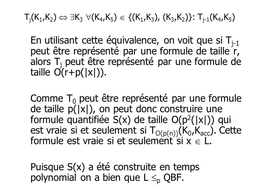 Tj(K1,K2)  K3 (K4,K5)  {(K1,K3), (K3,K2)}: Tj-1(K4,K5)