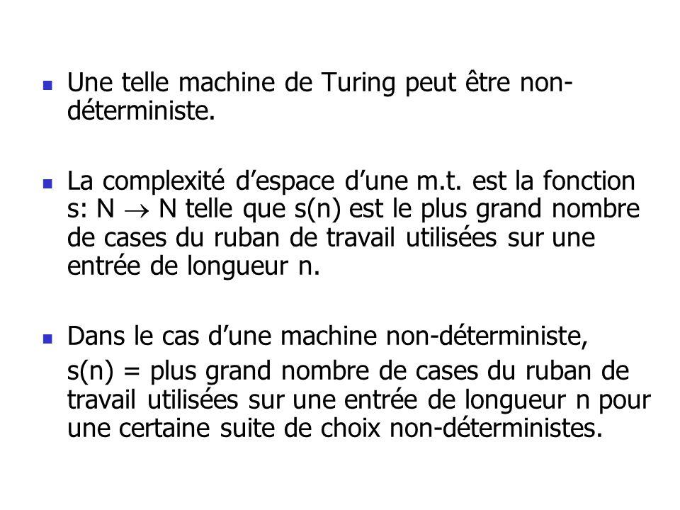 Une telle machine de Turing peut être non-déterministe.