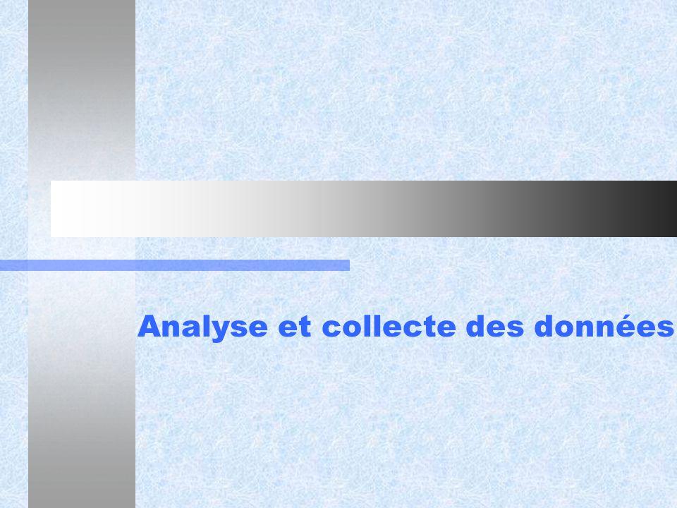 Analyse et collecte des données