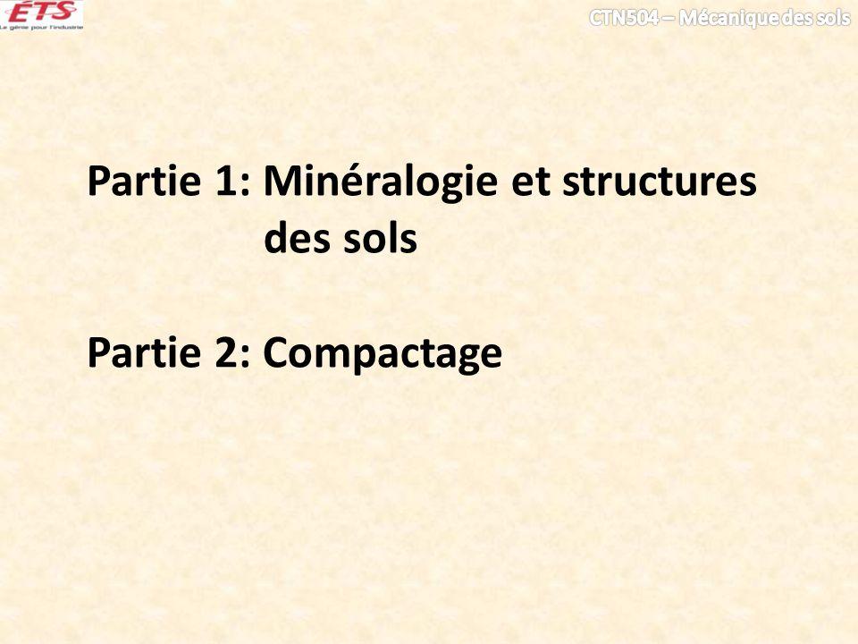 Partie 1: Minéralogie et structures des sols