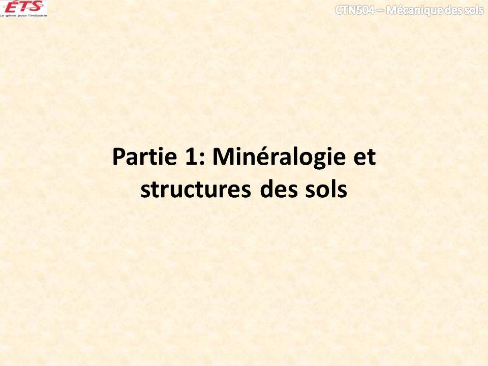 Partie 1: Minéralogie et