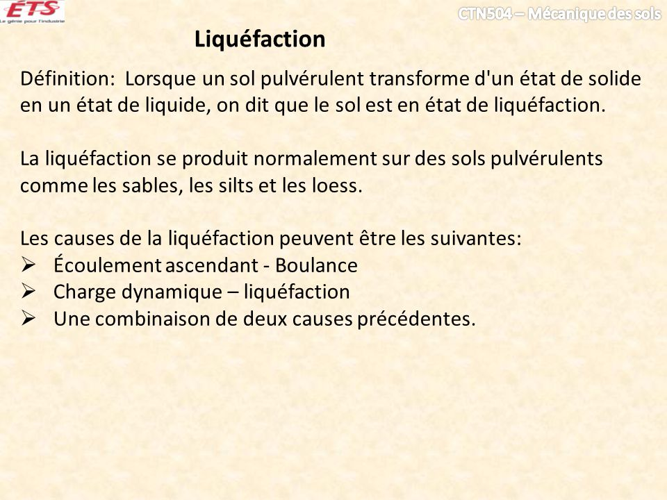 Liquéfaction