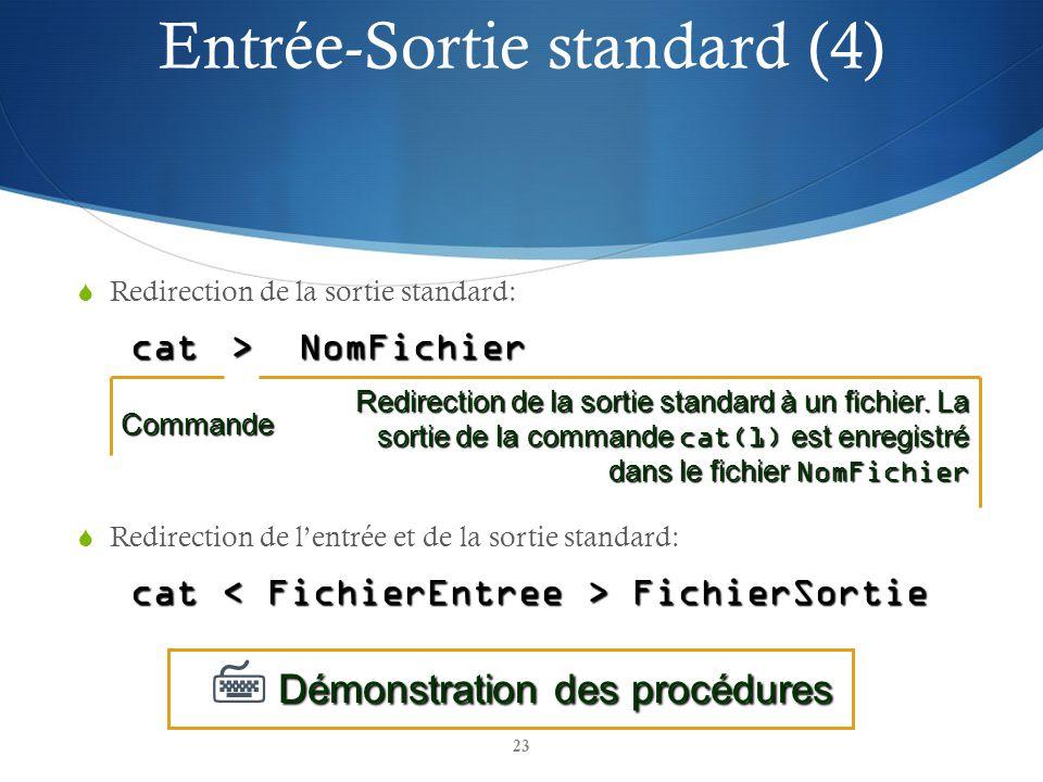 Entrée-Sortie standard (4)