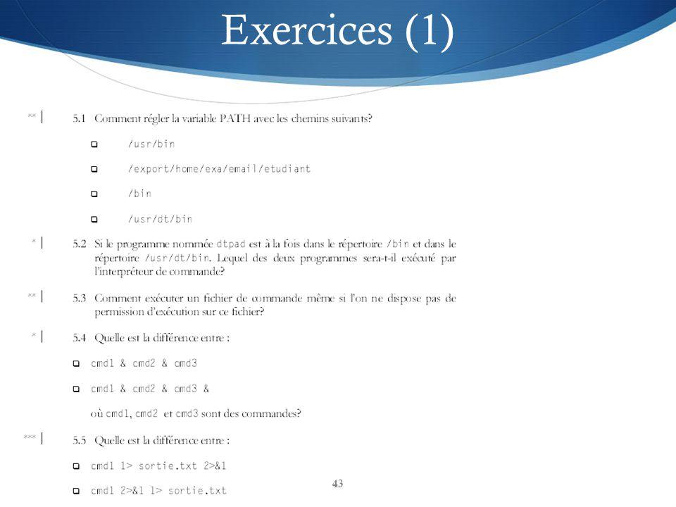 GPA435 Systèmes d exploitation et programmation de système