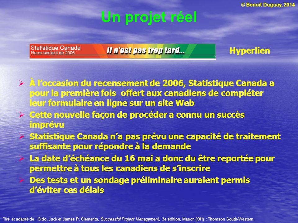 Un projet réel Hyperlien