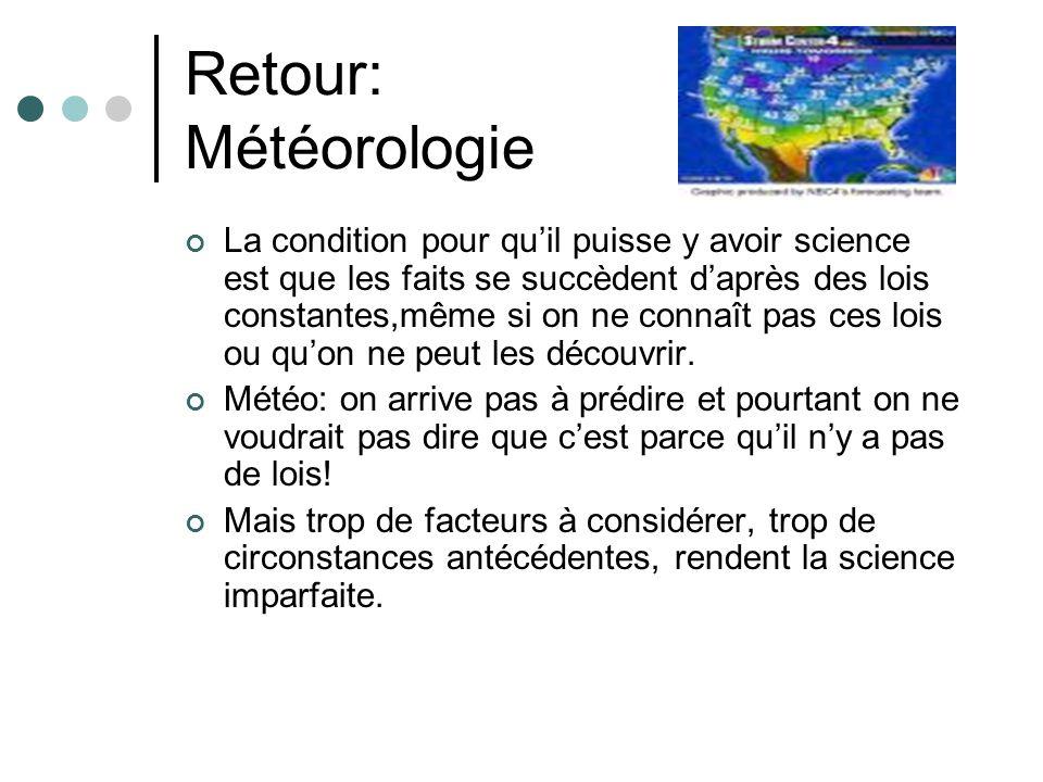 Retour: Météorologie