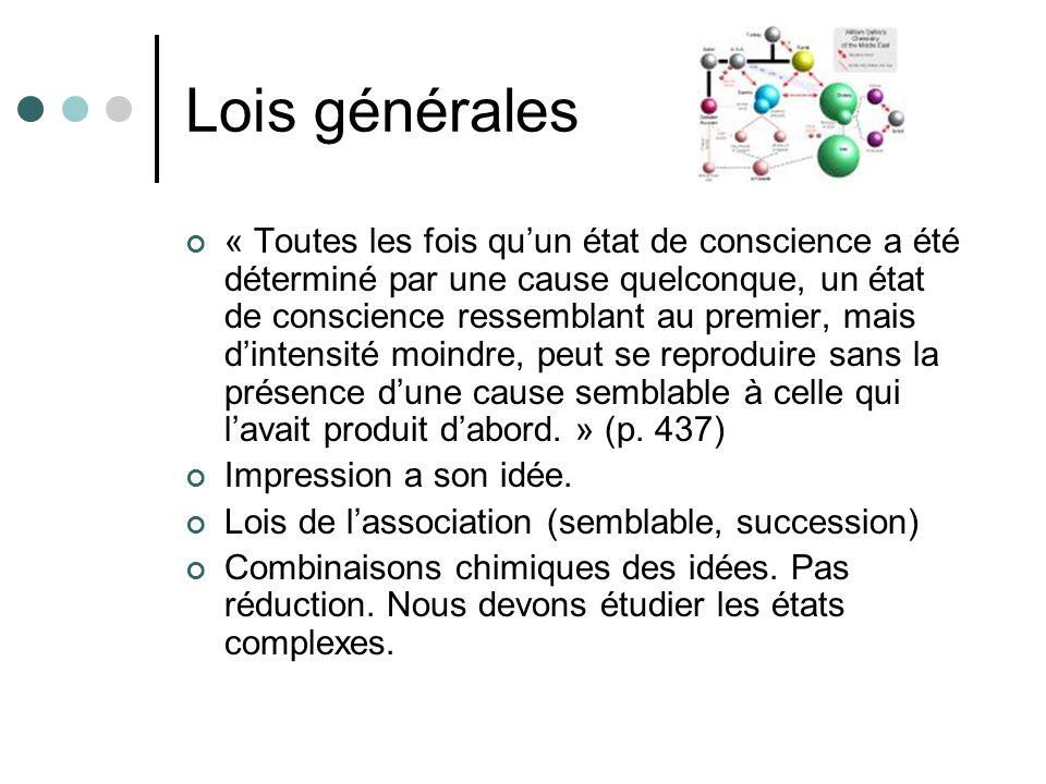 Lois générales